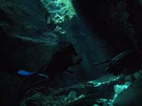 最も透明度の高い水セノーテの画像004