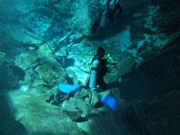 最も透明度の高い水セノーテの画像013