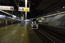 京王線の高幡不動駅の画像002