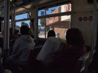 ロサンゼルスのバスの車内の画像003