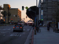 サンタモニカの街並みの画像003
