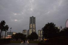ランドマークタワーの夜景の画像002