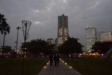 ランドマークタワーの夜景の画像004