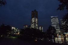 ランドマークタワーの夜景の画像005