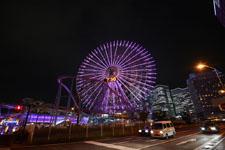 横浜の大観覧車の夜景の画像018