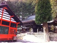 奈良井宿の神社の画像001