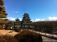 松本城の天守閣の画像001