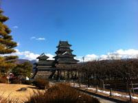 松本城の天守閣の画像002