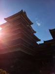 松本城の天守閣の画像003