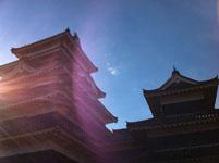 松本城の天守閣の画像004