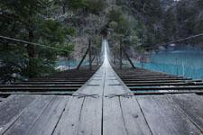 静岡県の寸又峡の画像004