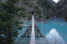 静岡県の寸又峡の画像005