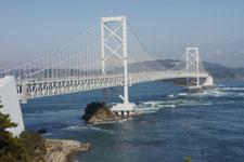 徳島の鳴門大橋