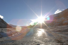 ロッキーのコロンビア大氷原の画像015
