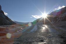 ロッキーのコロンビア大氷原の画像023