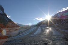 ロッキーのコロンビア大氷原の画像024