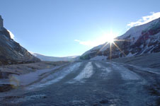 ロッキーのコロンビア大氷原の画像027
