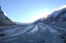 ロッキーのコロンビア大氷原の画像028
