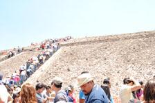 メキシコシティ近郊のテオティワカン遺跡の画像047