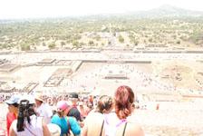 メキシコシティ近郊のテオティワカン遺跡の画像048