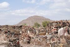メキシコシティ近郊のテオティワカン遺跡の画像055