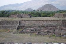 メキシコシティ近郊のテオティワカン遺跡の画像061
