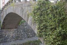 長崎の中島川にかかる橋の画像002