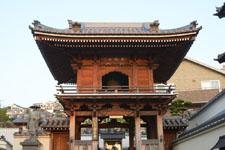 長崎のお寺の山門の画像001