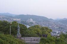 風頭公園の坂本龍馬之像の画像002