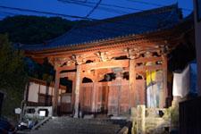 長崎のお寺の山門の画像002