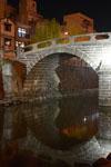 ライトアップされためがね橋の画像001
