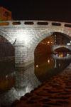 ライトアップされためがね橋の画像002