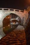 ライトアップされためがね橋の画像003