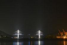 夜の長崎港