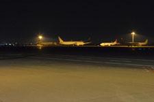 羽田空港のソラシドエアの飛行機の画像002