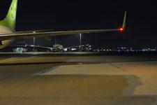 羽田空港のソラシドエアの飛行機の画像004