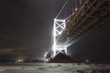 鳴門大橋の花火の画像002