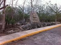 ユカタン半島のエクバラン遺跡の画像030