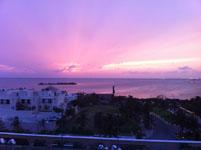ユカタン半島のカンクンの海の画像002