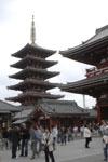 浅草寺の五重塔の画像001