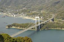 岩城島の橋
