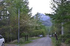 八ヶ岳の道路と木々の画像002