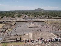 メキシコシティ近郊のテオティワカン遺跡の画像007