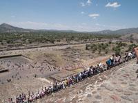 メキシコシティ近郊のテオティワカン遺跡の画像008