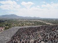 メキシコシティ近郊のテオティワカン遺跡の画像010