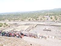 メキシコシティ近郊のテオティワカン遺跡の画像019