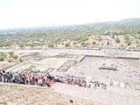 メキシコシティ近郊のテオティワカン遺跡の画像020