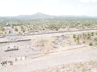 メキシコシティ近郊のテオティワカン遺跡の画像021