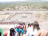 メキシコシティ近郊のテオティワカン遺跡の画像024