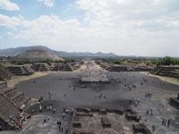 メキシコシティ近郊のテオティワカン遺跡の画像025
